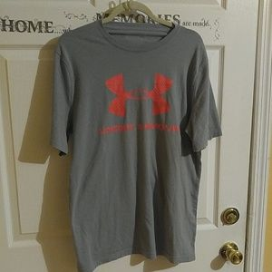 UNDER ARMOUR GREY T-SHIRT SIZE M